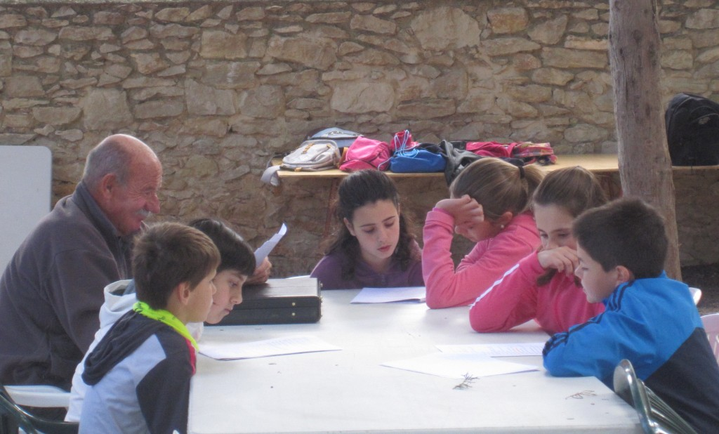 Escuela de Pascua en Carrícola 2012